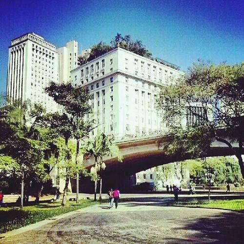 Sao Paulo - Brazil Anhangabau Cityscapes