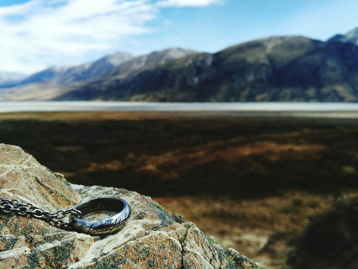 New Zealand Landscape Lord Of The Rings One Ring Tô Rule Them All Edoras Day Tranquility Beauty In Nature Eyesight Close-up Focus On Foreground