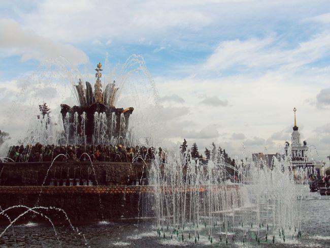 Moscow Moskova Moscow ♥️ In Moskow, Russia Park Fountain World Beauriful Beautiful Colors EyeEm Best Shots EyeEm Gallery EyeEm Love My Love Park Gorkogo Russia Russian Russia россия