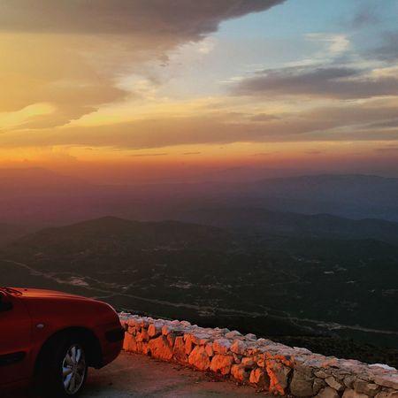 Sunset Croatiawithlove Croatiafulloflife Scenery Shots Photography Photooftheday Croatia Clouds Skyonfire Perfect Beautiful Peaceful Mountains Biokovo