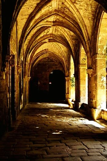 Medieval Church Medieval Architecture France Medieval Cloisters  Ancient Monastery Ancient Architecture Ancient Abbey Fontfoide Abbey Historic Building Historical Place Historic Site Historical Building Narbonne