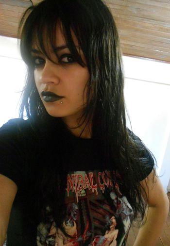 07.04.2014 Cannibal Corpse Metal Metalgirl CannibalCorpse Morena Death Metal Metaleira