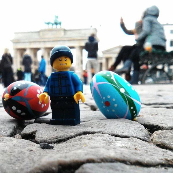 Ostern Brandenburgertor Easter Berlintourist Berlin LEGO Sights Minifigures