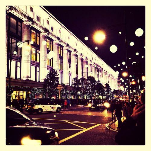Throwback to Christmas City Light Oxford St Like Follow