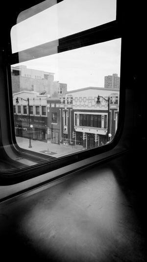Train - Vehicle Window Transportation No People Architecture Subway Train Streetphotography_bw EyeEm Best Shots - Black + White The Street Photographer - 2016 EyeEm Awards