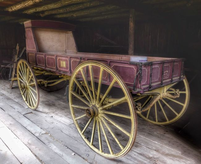 Old relics from a time gone by Muscoot Farm Katonah, NY Westchester County Channel 12 News Westchester Westchester Magazine Westchester County Parks And Recreation Old Mcdonald Had A Farm Transportation Mode Of Transportation Wheel Land Vehicle No People Stationary Cart Wagon Wheel Antique