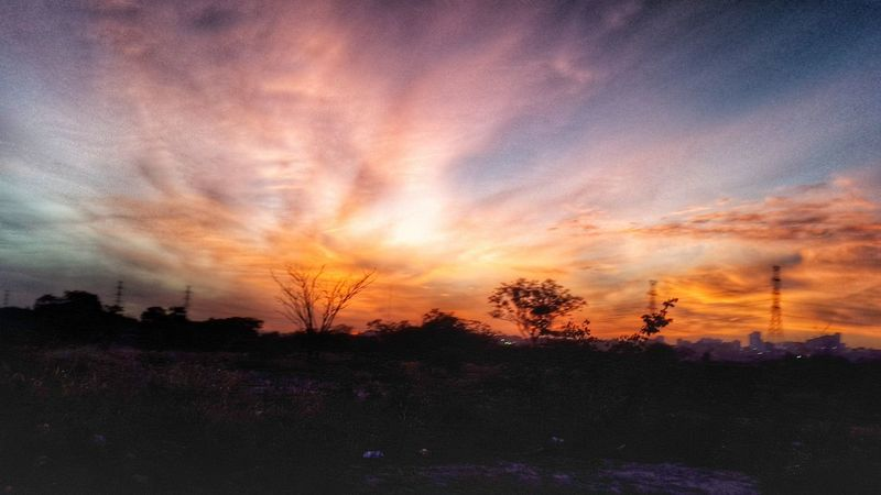 Beauty In Nature Cloud Cloud - Sky Golden Hour Idyllic Landscape Nature Scenics Sky Sundown Sunrise Sunset Sunsets Of Ey Sunsets Of Eyeem Tranquil Scene Tranquility