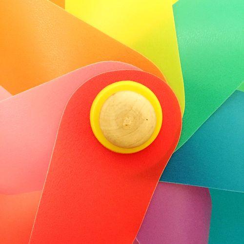 Full frame shot of pinwheel toy