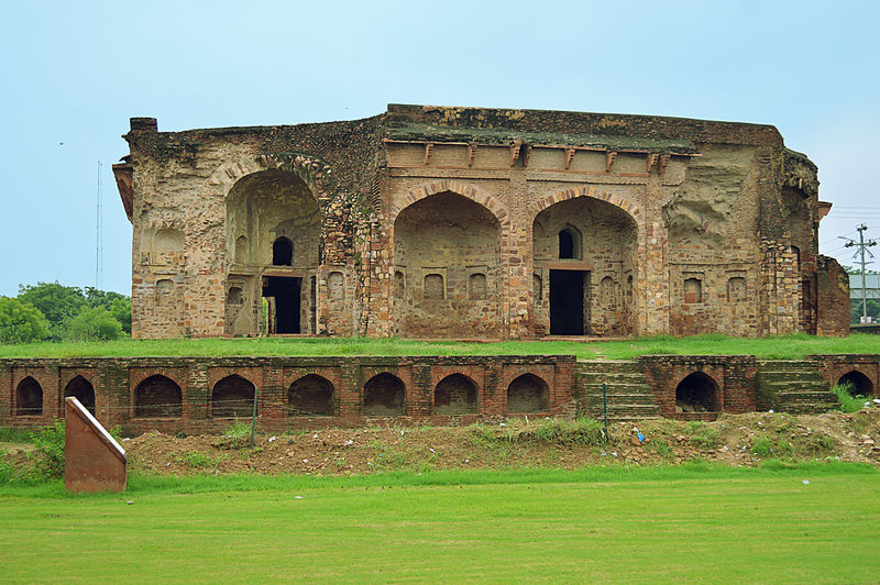 Sikandar Lodhi Fort, Sikandra, Agra, India Architecture_collection Blue Green  Broken Beauty Hiden Gems Historical Building History Architecture Old Buildings Palace Sky