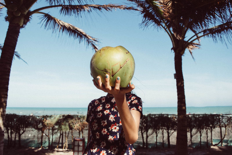Coconut Girl - EyeEm Best Shots Eye4photography  Beach Coconut Quotes Better Together VSCO