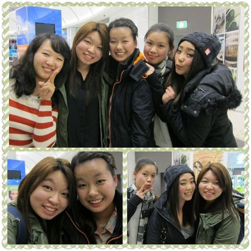 Miss seeing these girls x) Can't wait for the next time for us to catch up again (: Friendships Girls Pretty Burwood hurricane luvthem