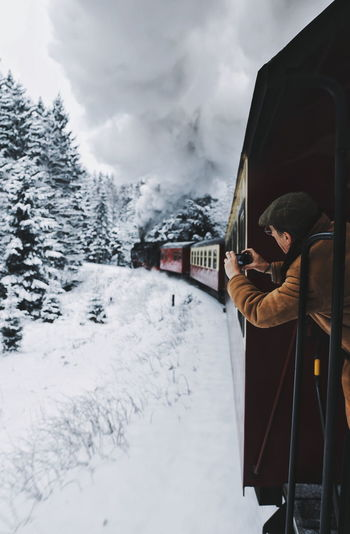 Shades of Winter EyeEm Best Shots Snow Wintertime Train Winter Wonderland