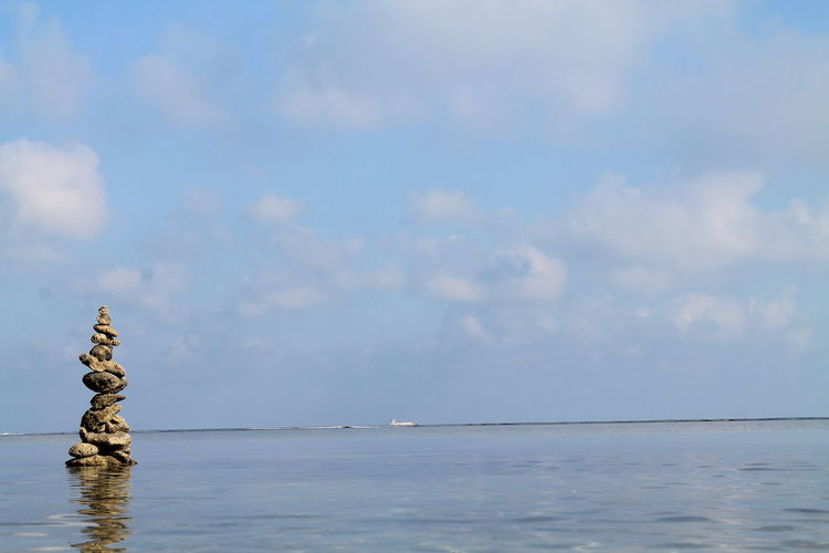 f/10 | 1/250s | 55mm | ISO-100 | Sea Cloud - Sky Horizon Over Water Water Tranquility Outdoors Nature Pangasinan Bolinao Vacations Philippines Love ♥ Travel Destinations Godscreation Scenics Nature Rocks Manmade Structure Rock Formation