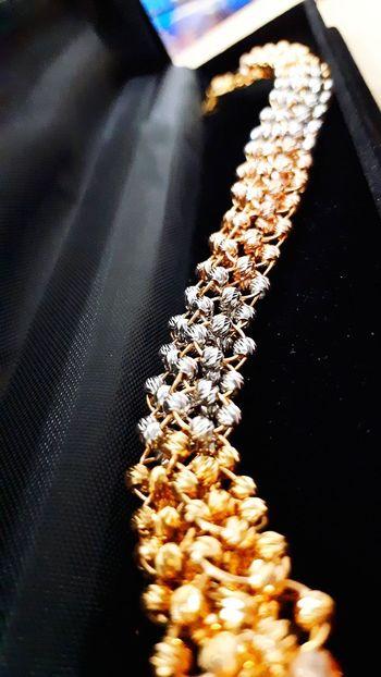 Gold Gold Colored Jewelry Jewllery Bracelet Bracelet ♥ Bracelet Love No People Indoors  Textile Close-up Black Background Day