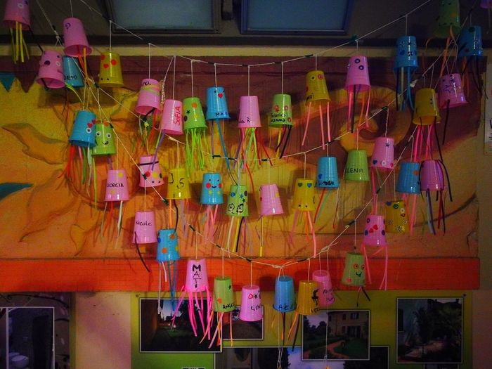 Multi Colored Variation Summer Indoors  Hanging