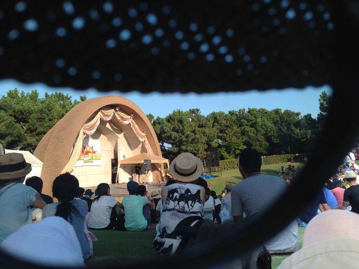 男波カレー音楽祭にて Music Live Music Curry