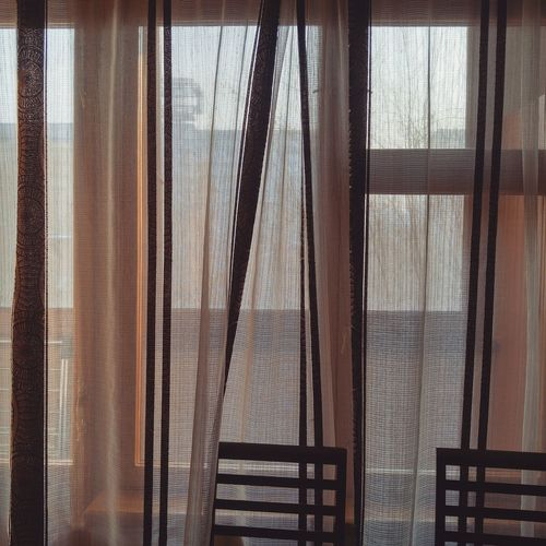 Curtain Backgrounds Window Textured  Indoors  No People Day