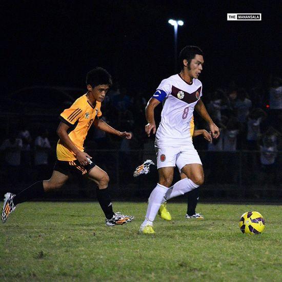@agiaguilar8 ⚽⚽⚽ . . . Uaap77 UPvsUST Upfight Upfightingmaroons sbspotlight soccerbible football themanansala bootspotting