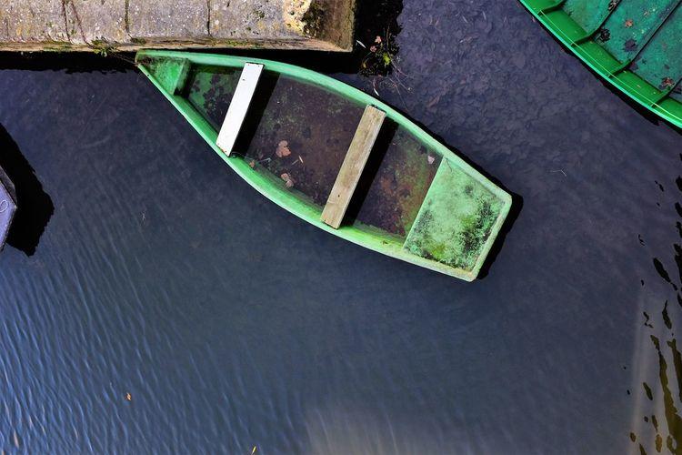Boat Day France Green Maraispoitevin No People Outdoors Sky Water