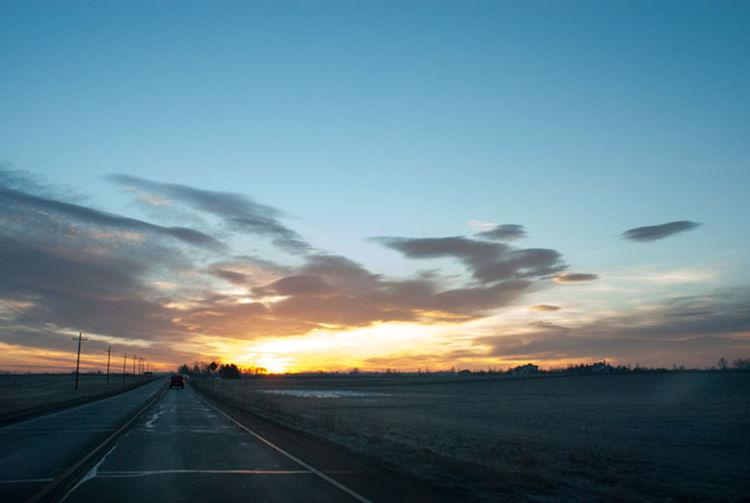 Sunrise Landscape Sun_ Collection Skyporn