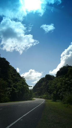 Nature Photography Nature_collection Highway Mountains And Sky