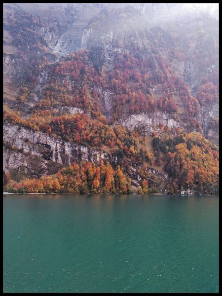 Switzerland Autumn Lake Colors Mountains Landscapes With WhiteWall The KIOMI Collection