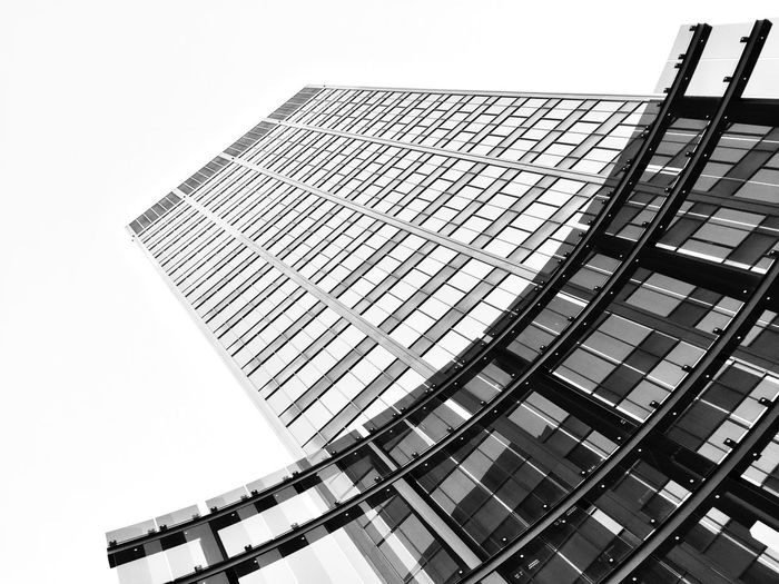 EyeEmNewHere Blackandwhite Minimalism Architecture Architecture Building Exterior Modern Built Structure Skyscraper Low Angle View City Window Clear Sky Corporate Business Day Outdoors No People Growth Business Sky Tall Office Park Rethink Things Black And White Friday AI Now EyeEm Ready   The Graphic City California Dreamin Visual Creativity Adventures In The City The Architect - 2018 EyeEm Awards The Great Outdoors - 2018 EyeEm Awards The Traveler - 2018 EyeEm Awards The Creative - 2018 EyeEm Awards