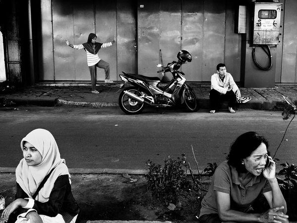 The Street Photographer - 2014 EyeEm Awards Black & White Street Photography
