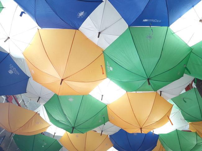 Mexico Una Mirada Al Mundo Sombrilla Umbrella☂☂ Multi Colored Backgrounds Full Frame No People Paper Day