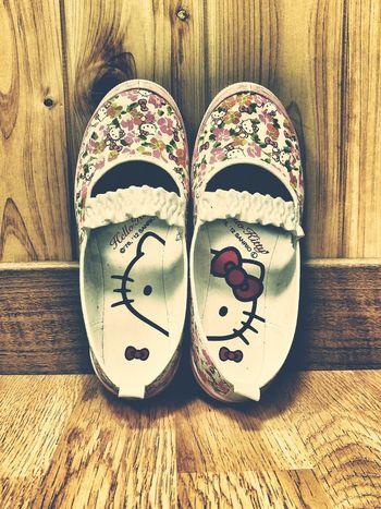 Hello Kitty Shoes Kindergarten Kidsfashion Fashion Girls Kids Patterns Cats Foot Wear  Pastel Power