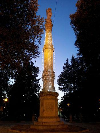 Colonna madonna votiva. Architecture City Mesagne Italy❤️