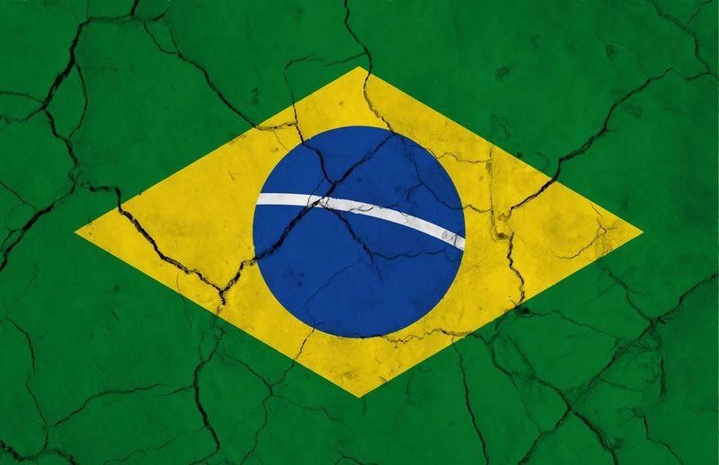 brazil flag Brazil Flag America Rio De Janeiro Sud Patriottism Green Color No People Close-up Textured