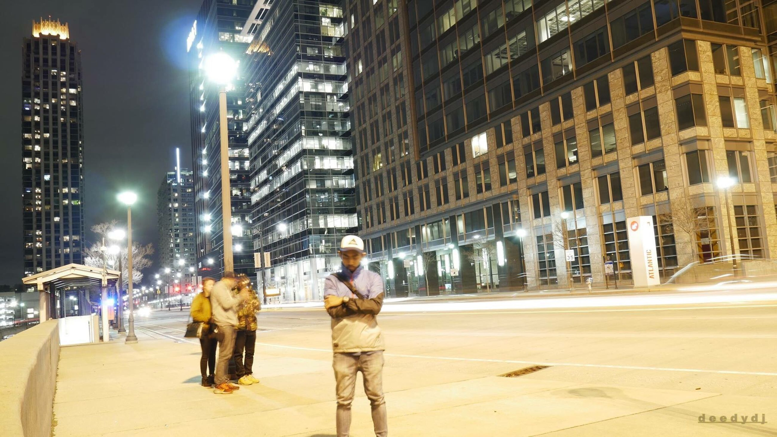 night, city, illuminated, two people, street, winter, full length, city life, adults only, travel, walking, people, only men, outdoors, travel destinations, built structure, adult, togetherness, men, working, young adult, architecture, teamwork