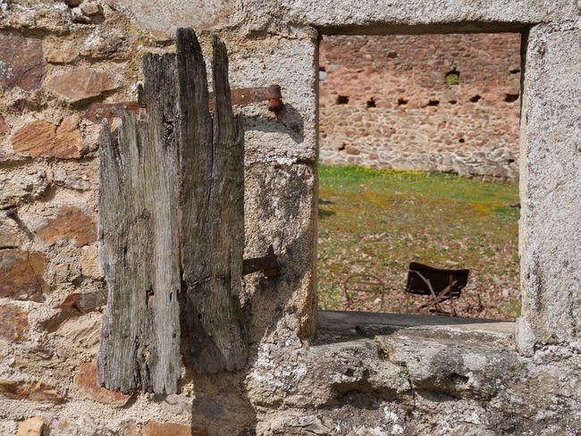 Old shutter Old Shutter Wooden Shutter Window Ruin Oradour Sur Glane
