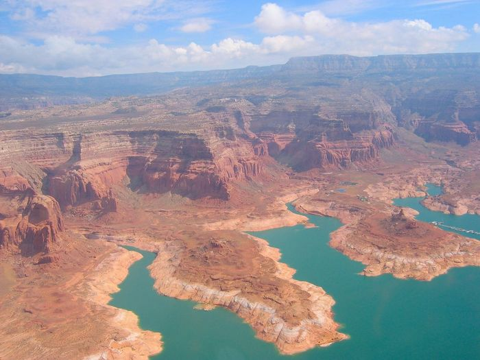 Aerial Photography Aerial Shot Arizona Canyonview Glen Canyon Physical Geography Rock Formation Travel