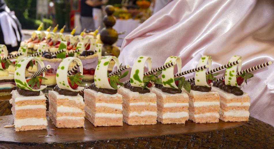 Close-up of cake