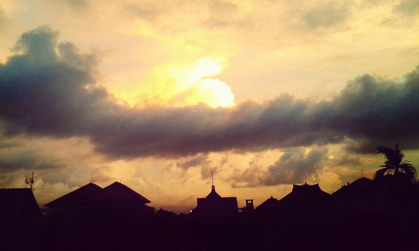 Sun Set nice day I❤BALi Beautiful Surroundings Nice Atmosphere