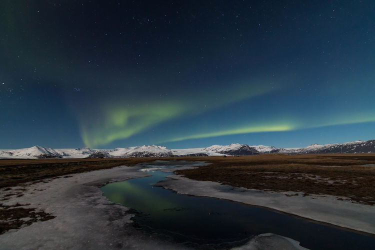 My dream of Nothern Lights Iceland Nothern Lights  Nature Photography Vatnajökull Astrophotography Travel