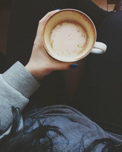 Coffee Time Afternoon Poland Olitangerine Caffè Winter Feeling Cozy