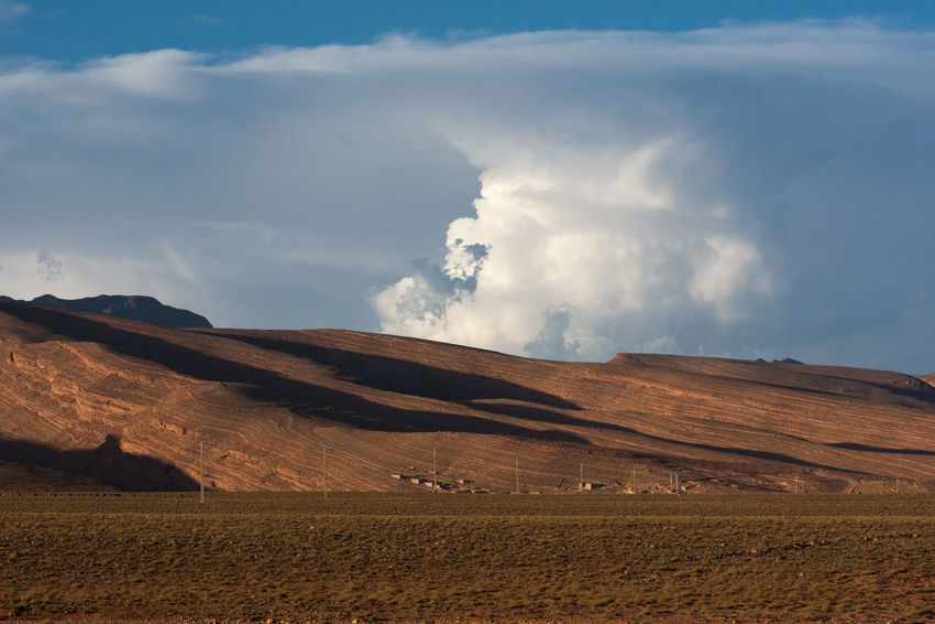 Landscape in the atlas Morocco 🇲🇦 High Atlas Mountains Clouds Landscape Desertic Atlas