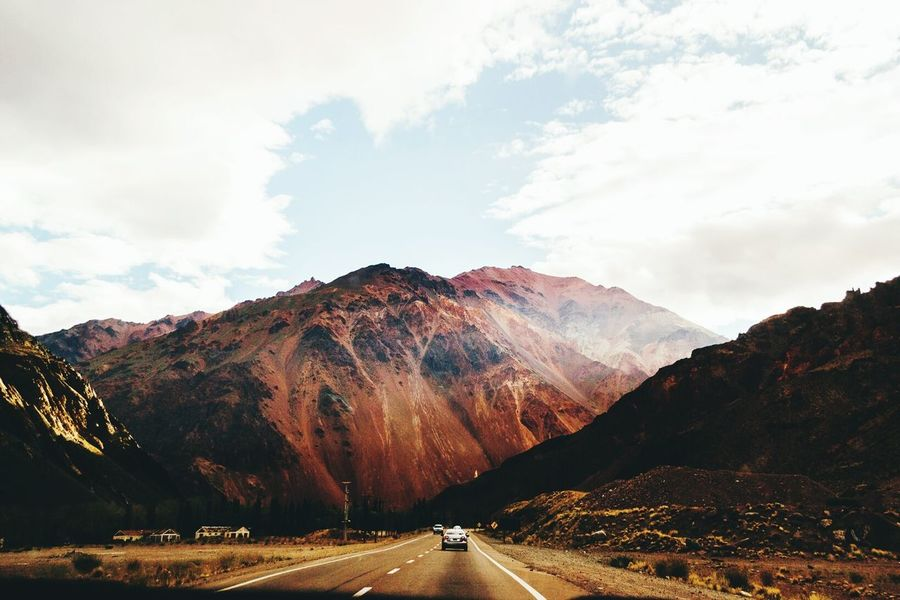 Inmensidad Mountain Road Travel Landscape Sunset Dramatic Sky Mountain Range The Way Forward Cloud - Sky Scenics Outdoors No People Beauty In Nature Nature Day