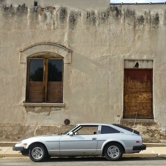 Check This Out Urban Geometry Urbanphotography Classic Beauty Classic Car Vintage Cars 280ZX Datsun Oldschool Cityscapes
