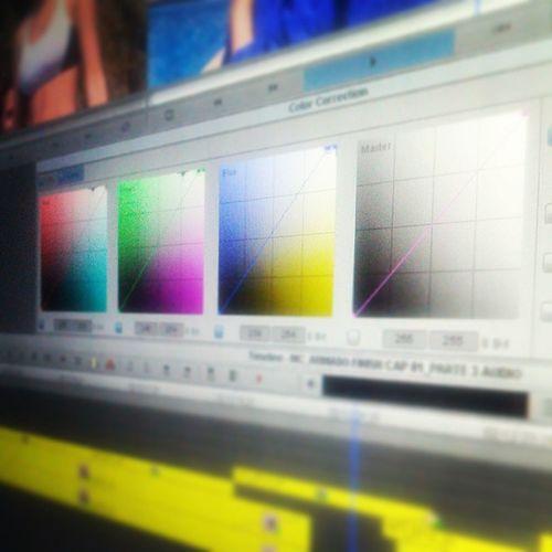 Colorcorrection Avid Proyectomisschile junto a @mrdirektor @heralg