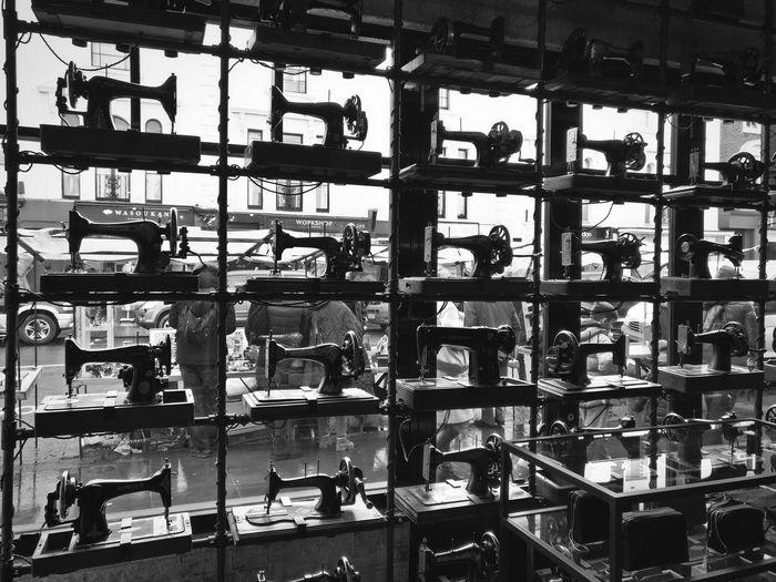 Full frame shot of machine