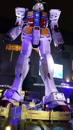 Odaiba Gandum Japan Toys Illuminated Night Futuristic No People Architecture Technology Outdoors