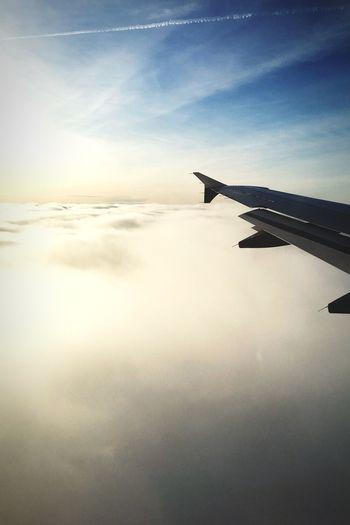 Above The Clouds Lufthansa Dresden