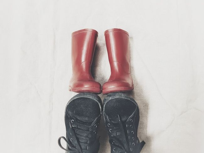 | My old red boots | Red Shoes White Background MyShoes Birkenstock Mania Me Myself And I Memories '70 EyeEmItaly Little Boots EyeEm Selects Low Section Red Human Leg Shoe Sock Close-up Human Foot Pair Footwear Visual Creativity
