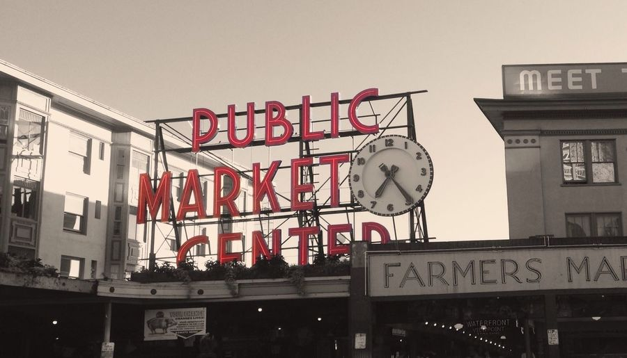 Pike Place in Seattle, WA. Seattle PikePlaceMarket Iphoneonlyphoto