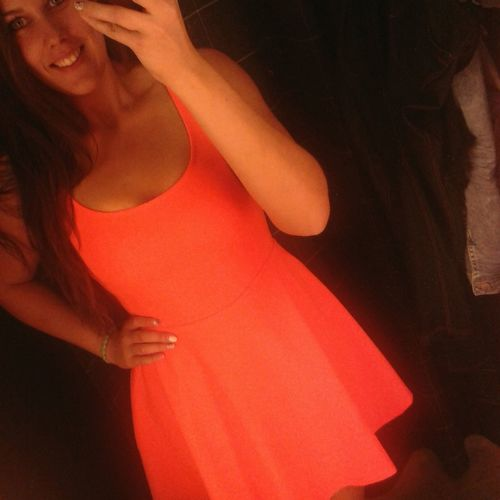 Szinte ragyogok :D Smile Fit Happy Dress #crazyday #orange #dresses