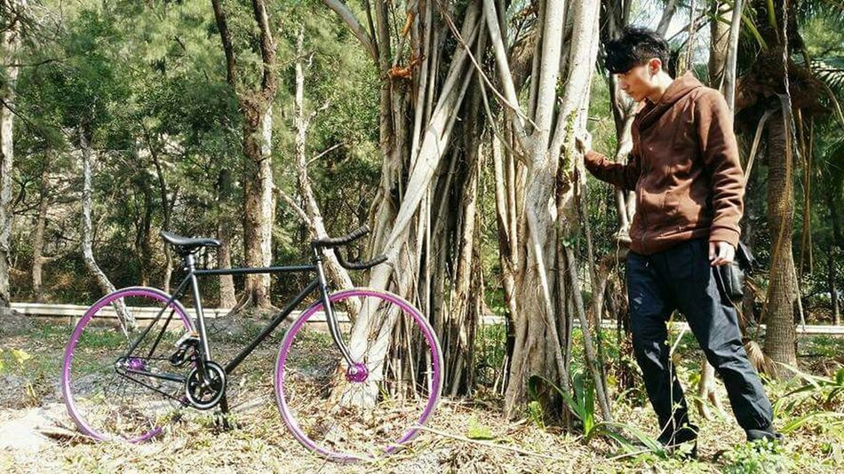 Fixedgear Fixie/fixed Gear HongKong Fixed Gear Bicycle Bicycling Purple Hk Bicycles That's Me